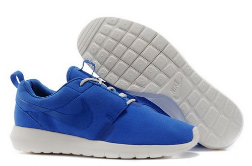 Nike Roshe Run Nm Br Mens Shoes Blue All Hot Online